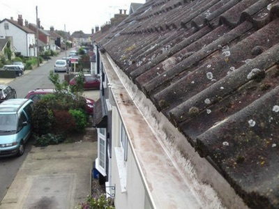 Gutter Cleaning in Cardiff, Swansea