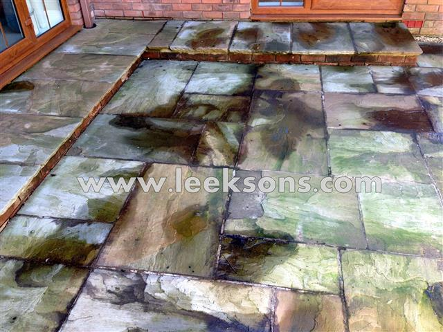 Patio Cleaning in Cardiff, Swansea, South Wales