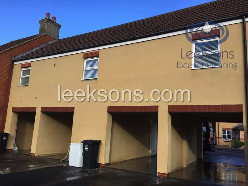 Render cleaning company in Weston Super Mare