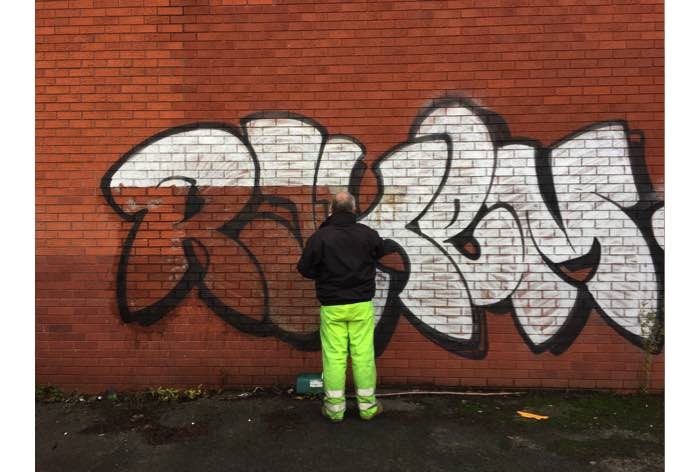 Graffiti Cleaning Company in Bristol